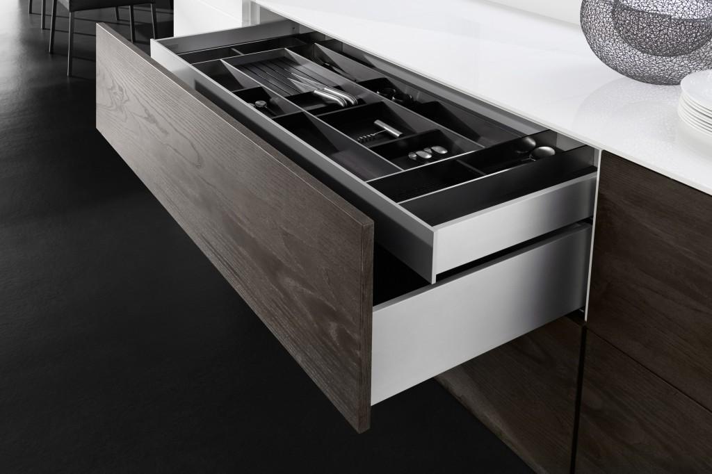 Vionaro – das kubistische Schubkasten-System für Küche, Wohnraum und Bad