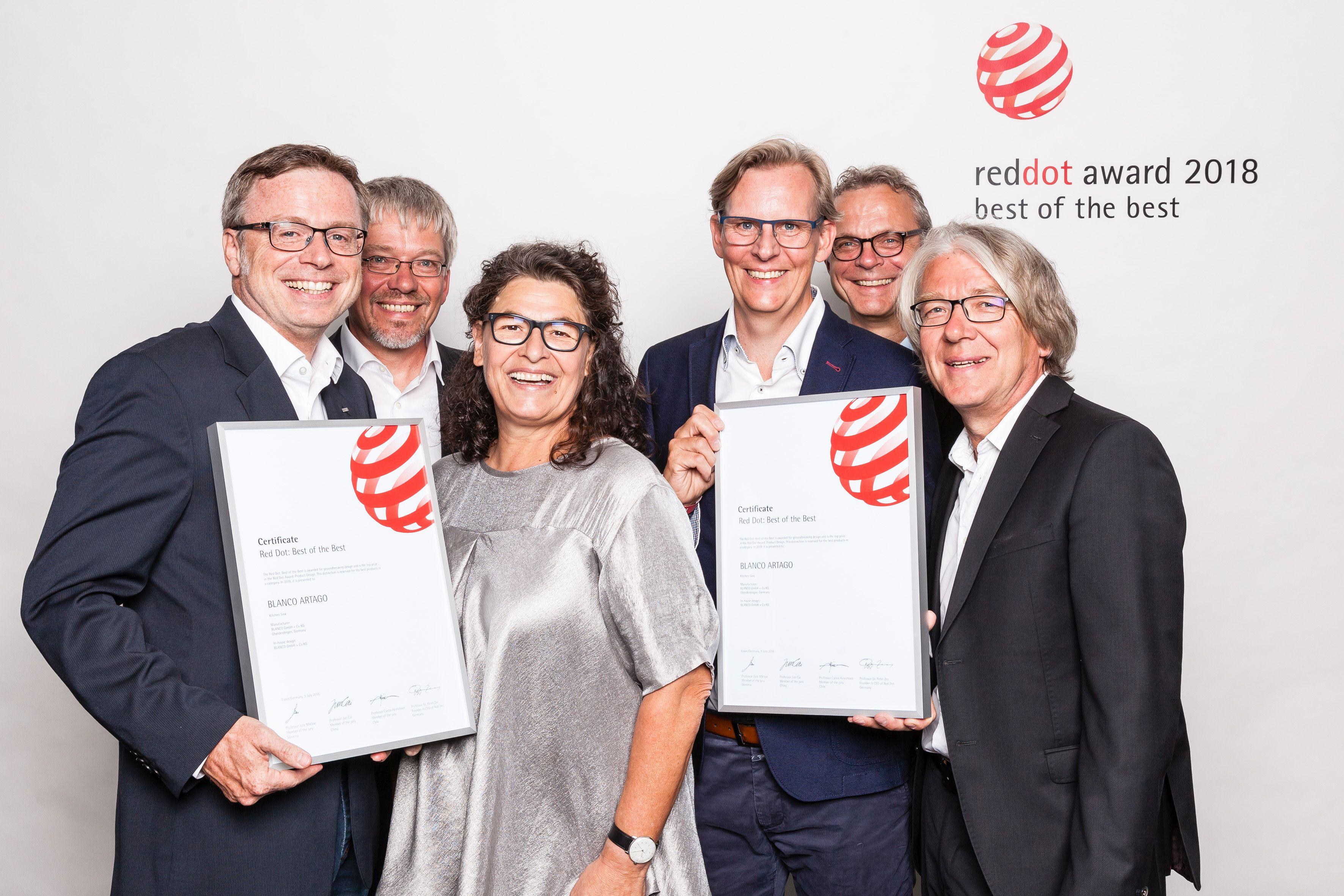 Blanco Red Dot Design Award 2018 Umaxo