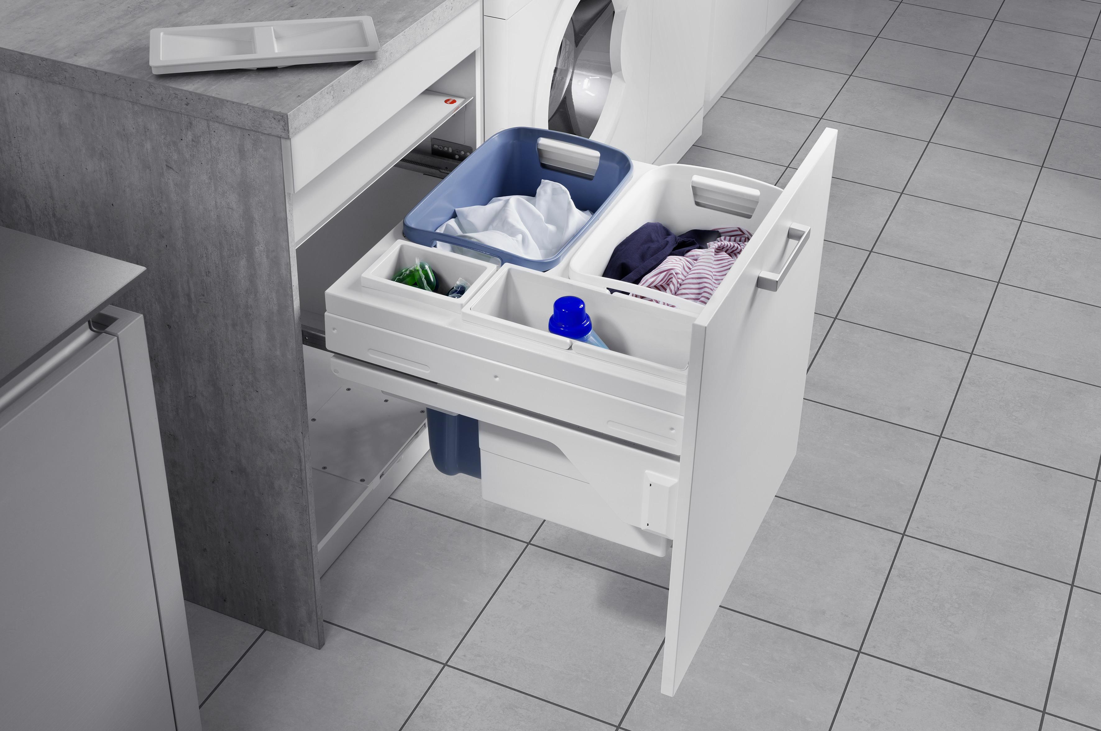 pantry box und laundry carrier von hailo umaxo. Black Bedroom Furniture Sets. Home Design Ideas