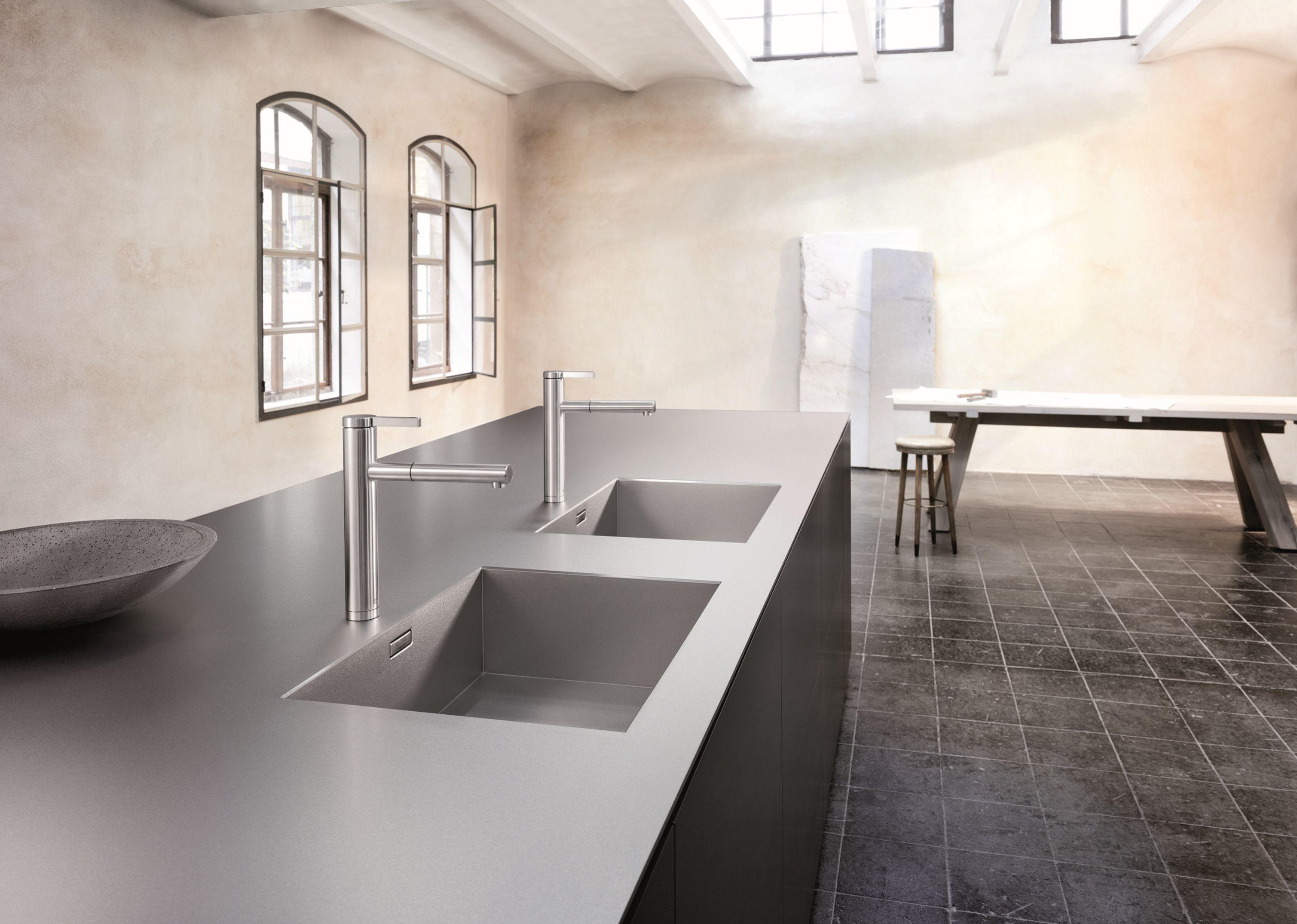 BLANCO DURINOX: Materialinnovation für Edelstahl-Arbeitsplatten   UMAXO