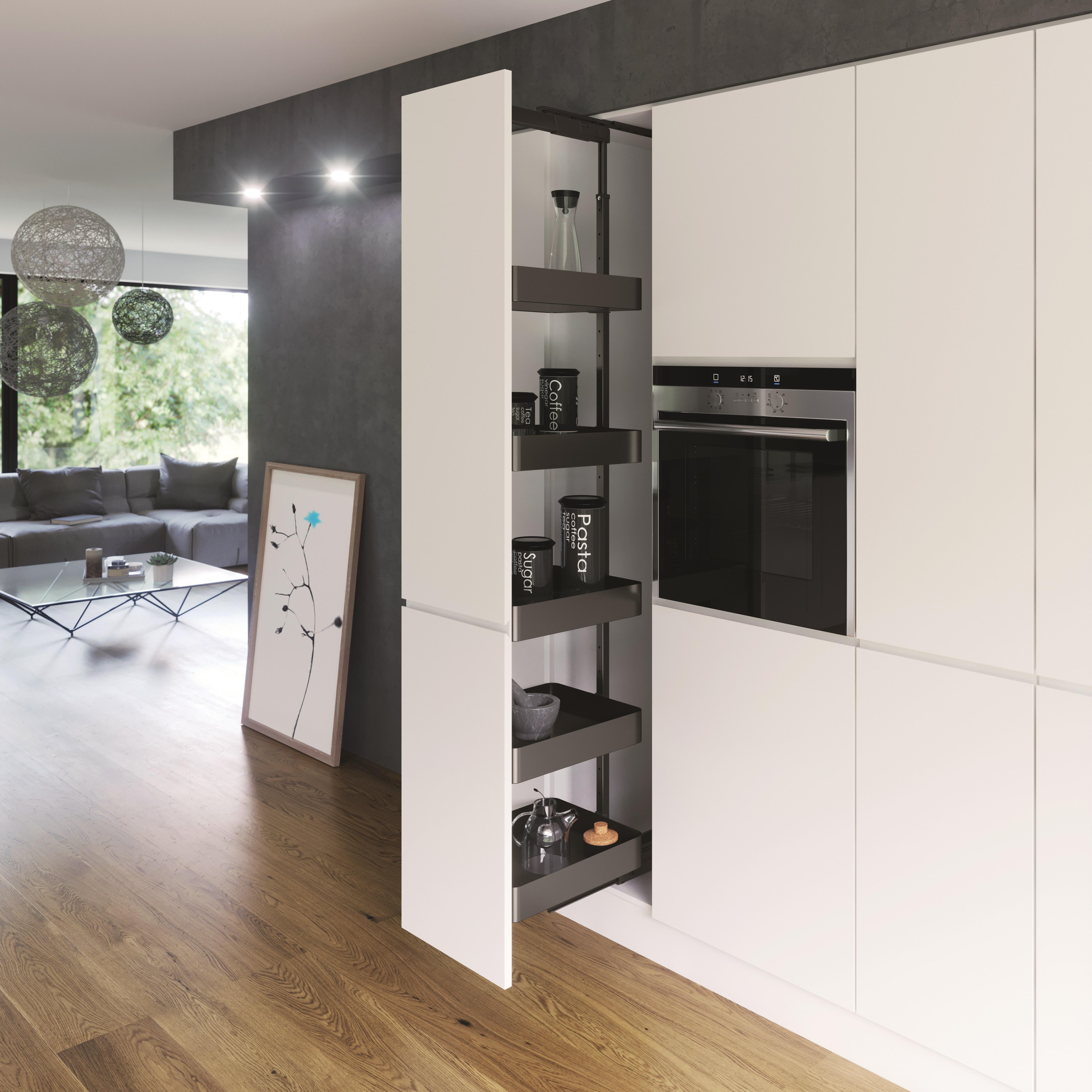 vauth sagel sorgt f r perfekten lauf im bereich hochschrankausz ge umaxo. Black Bedroom Furniture Sets. Home Design Ideas